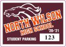 104-HS-PARKING PERMIT DECAL