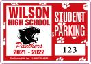 111-STUDENT PARKING DECAL