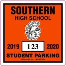 211-H PARKING PERMIT DECAL