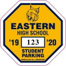 212-PARKING PERMIT DECAL