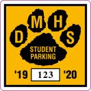 213-PARKING PERMIT DECAL