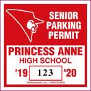 214-PARKING PERMIT DECAL