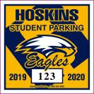 217-PARKING PERMIT DECAL