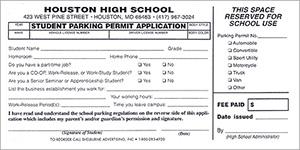 600 Parking Permit Registration Forms | Parking Permits, Parking ...