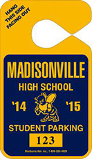 601- PARKING TAG