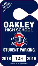 603 - PARKING TAG