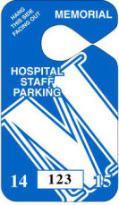 Custom - Parking Tag