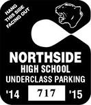644-1 Mini Parking Hang Tag
